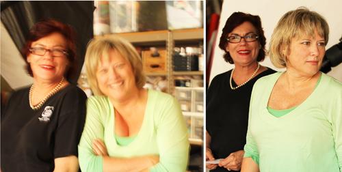19 Denise vivaldo and Cindie Flannigan
