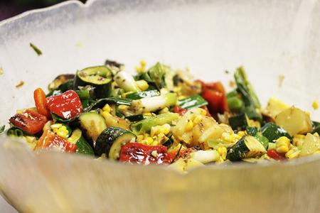 California Grilled Vege Picnic Salad 3