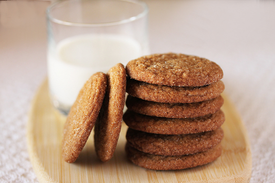 Post image for Gingersnap Cookies