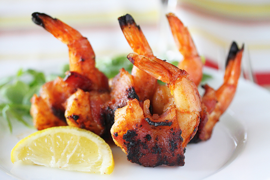 Post image for BBQ Bacon-Wrapped Shrimp