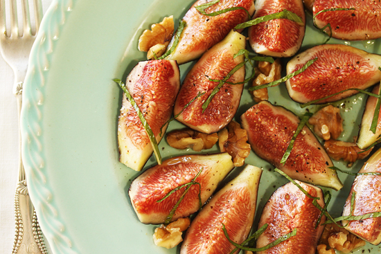 Post image for Fig Salad with Walnuts and Mint