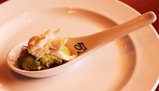 Crab and Avocado Amuse