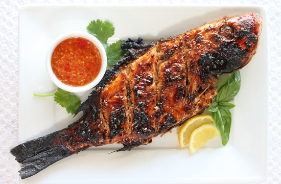 Grilled Snapper 550