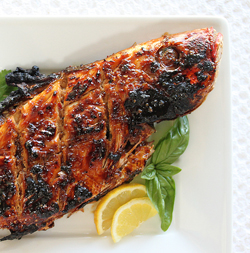 Grilled Whole Red Snapper with Ginger Sweet Chili Sauce 3