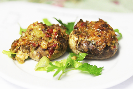 Summer Savory Stuffed Mushrooms 3