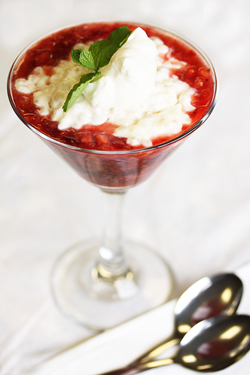 Autumn Berry Tapioca Parfait 2