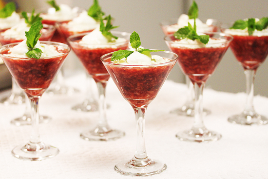 Post image for Autumn Berry Tapioca Parfaits & Caramelized Onion and Brie Croissants at Grace-Marie's Kitchen