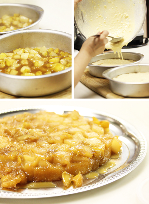 Autumn Harvest Brandy Pear Cake Matrix 2