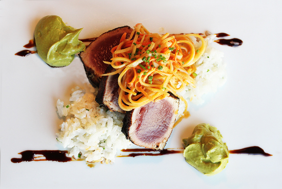 Baleen 3 - Ahi Tuna & Papaya Salad
