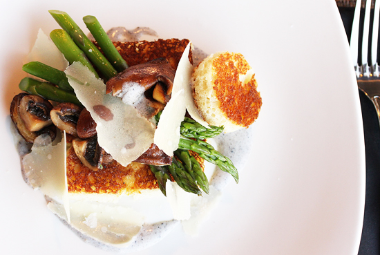 Post image for BALEEN at The Portofino Hotel & Yacht Club and Warm Asparagus & Mushroom Salad with Truffle Vinaigrette