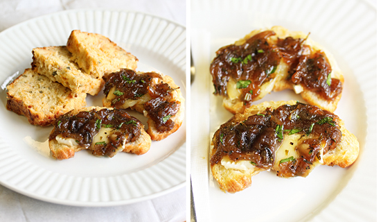 Caramelized Onion and Brie Croissants 2