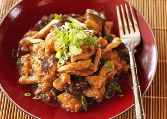 Chinese Pork and Eggplant Chow 4