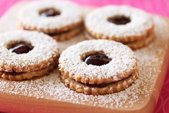 Linzer Cookies 1