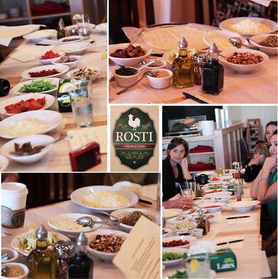 Post image for Rosti Tuscan Kitchen and a Pizza Competition