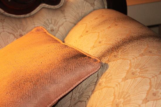 5 Arm of antique sofa