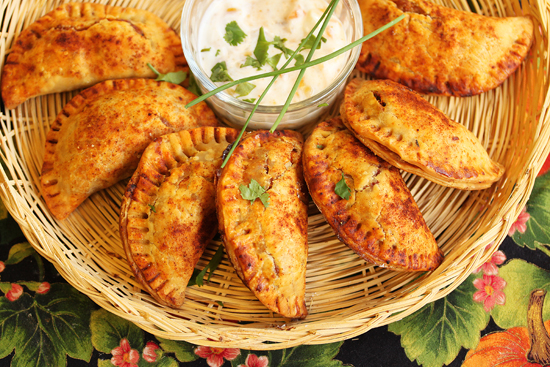 Post image for Holiday Sweet Potato and Turkey Empanadas from Grace-Marie's Kitchen at Bristol Farms