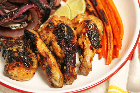 Mojito Grilled Lime Chicken Wings