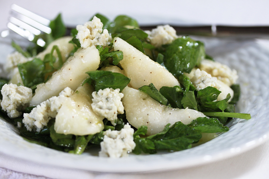 Post image for Pear, Blue Cheese & Watercress Salad