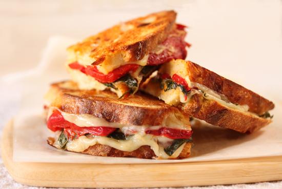 RedPepper Provolone Sandwich