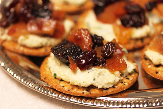 Post image for Spirited Fruit and Cheese Hors d'Oeuvres from Grace-Marie's Kitchen at Bristol Farms