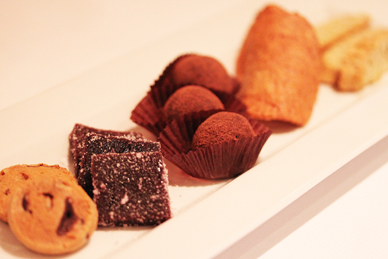 Coffee with Todd's House-made Cookies, Jellies, Truffles and Boscotti