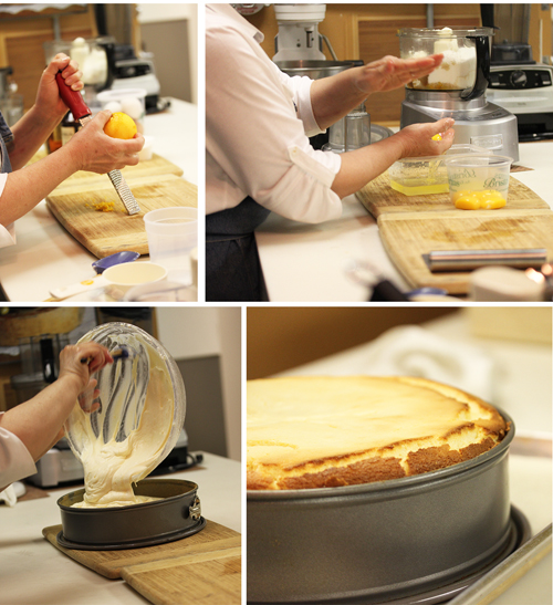 Strawberry Glazed Italian Cheesecake 2
