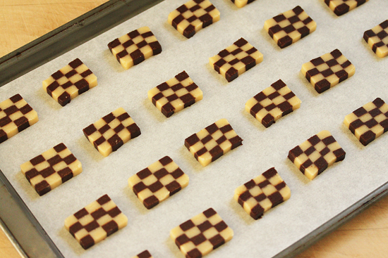 Checkerboard Cookies 6