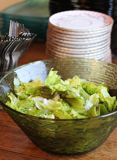 Emery's Salad with Pancetta and Truffle Vinaigrette  1
