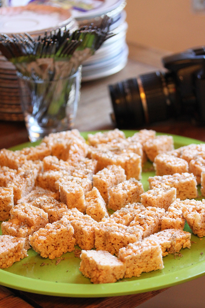 Rice Krispie Treats with Truffle Salt 19