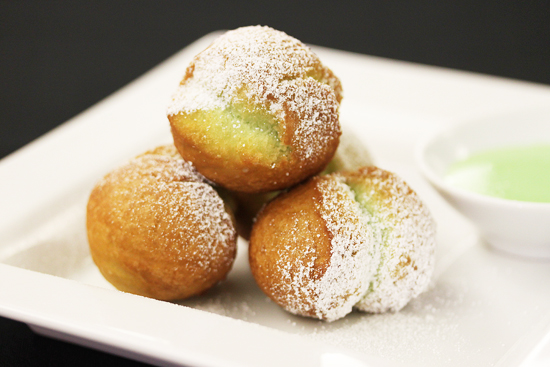 Pandan Donut Holes from Starry Kitchen