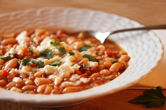 Chorizo White Bean Soup1