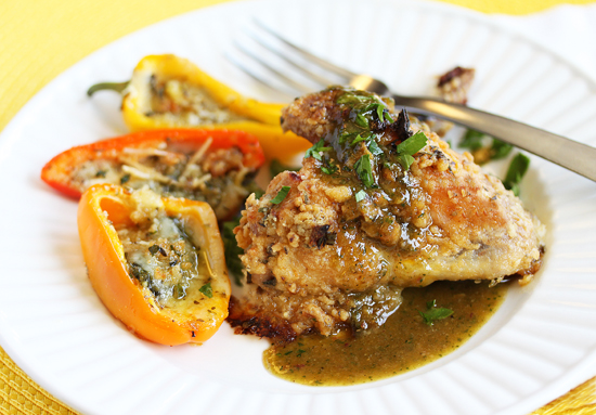 Tuscan Chicken Wings 2