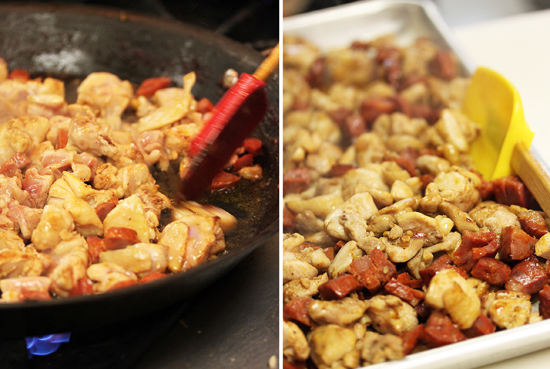 Paella with Chicken and Chorizo 2