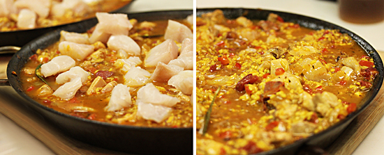 Paella with Chicken and Chorizo 5