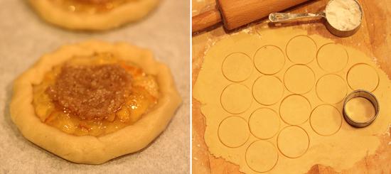 4Mozza Orange Marmalade and Almond Crostate