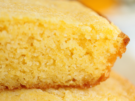 Soft Buttery Northern Style Cornbread