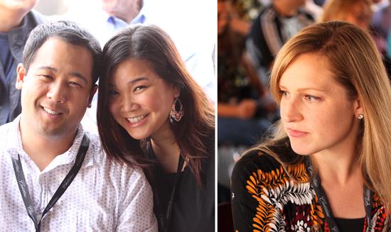 Derrick, Quyen and Rachael