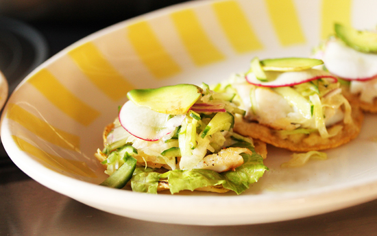 Grilled Fish Tacos wih Cucumber Citrus Salsa by Chef Mary Sue Milliken