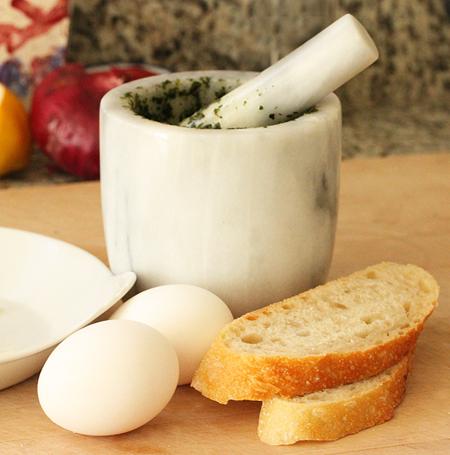 baked egg five