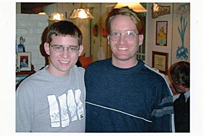 Cookie Monsters Brian & David