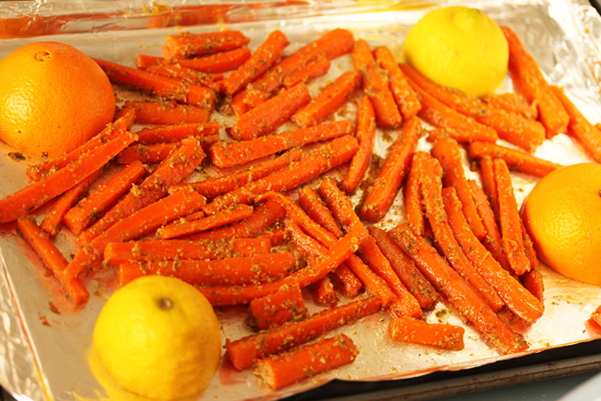 Cumin Roasted Carrots and Avocado Salad dwith Citrus Dressing 1