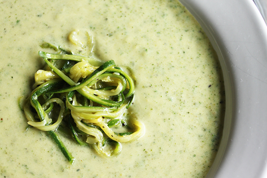 End of Summer Zucchini Soup 4