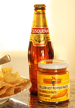 Peruvian Ceviche with Aji Amarillo Peppers 4