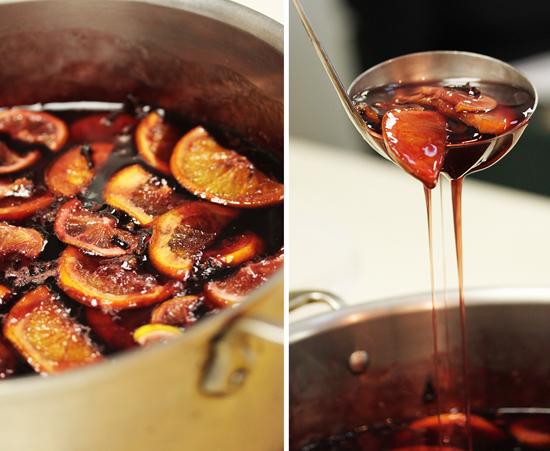 Sangria Glazed Caramelized Pears 3