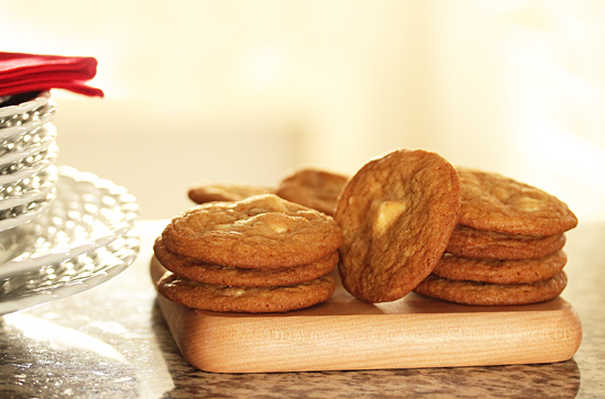 Post image for White Chocolate Chunk and Pecan Cookies