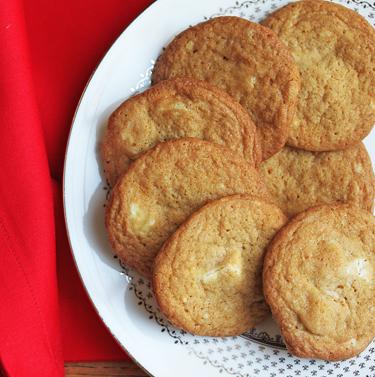White Chocolate Pecan Cookies 2