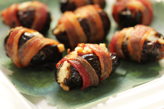Bacon Wrapped Dates 6