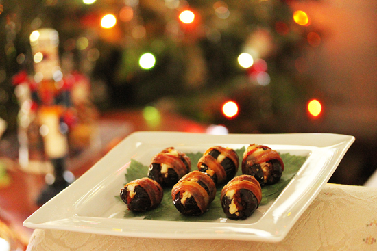 Bacon Wrapped Dates 7