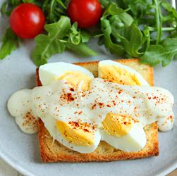 Egg with Bechemel 3