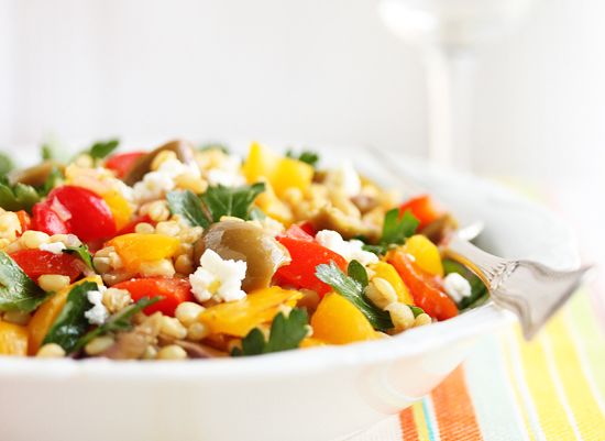 Wheat Berry Salad 5